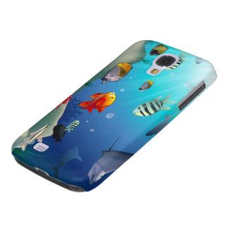 Underwater scene galaxy s4 cases