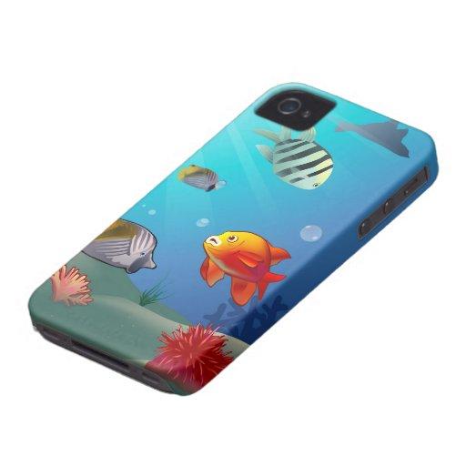 Underwater scene iPhone 4 cover