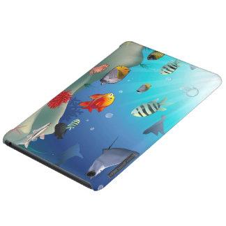 Underwater scene iPad mini case