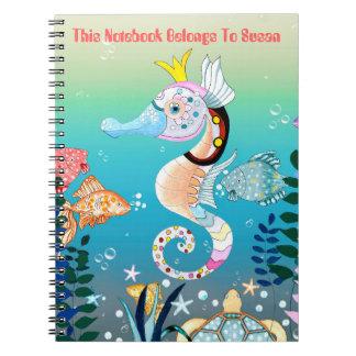 Underwater Scene, Notebook