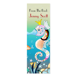 Underwater Scene, Skinny Card Bookmark Pack Of Skinny Business Cards