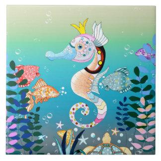 Underwater Scene, Tiles