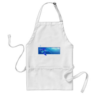 Underwater Sea Turtle Standard Apron