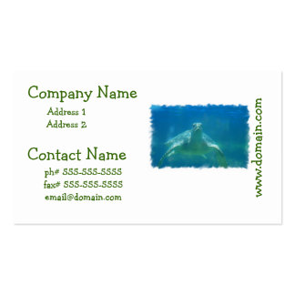 Underwater Turtle Business Cards