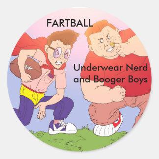 Underwear Nerd and Booger Boys Stickers