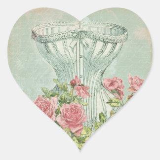 Underwear Party Lingerie Seals Heart Shaped Tag Heart Sticker