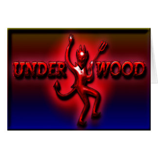 Underwood Ham Red Devil II Greeting C Greeting Card