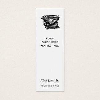 Underwood Typewriter Writer Mini Business Card