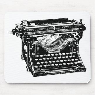 Underwood Typewriter Writer Mouse Mat