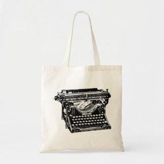 Underwood Typewriter Writer Budget Tote Bag