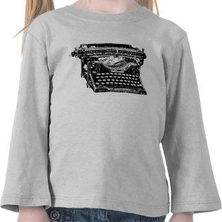 Underwood Typewriter Writer Tshirts