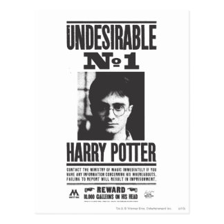 Undesirable No 1 Postcard