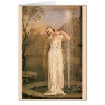 Undine by John William Waterhouse Greeting Card