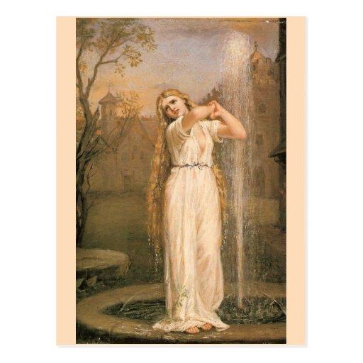 Undine by John William Waterhouse Post Card