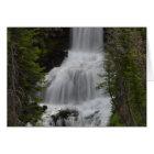 Undine Waterfalls Yellowstone Card