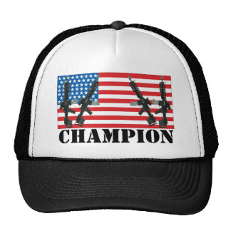 Undisputed World War Champions American Flag Truck Cap