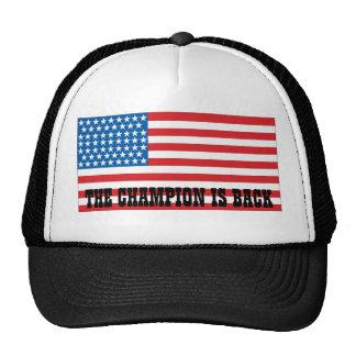 Undisputed world war champions cap