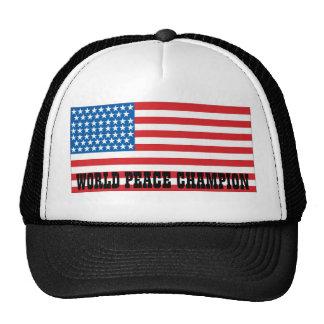 Undisputed world war champions hat