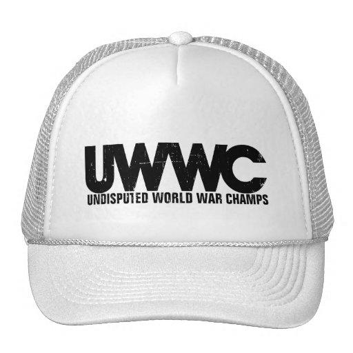 Undisputed World War Champs Trucker Hat