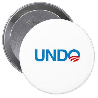 UNDO 10 CM ROUND BADGE