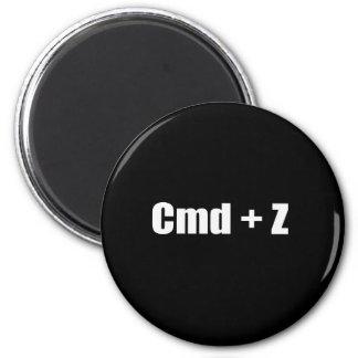 Undo - CMD + Z Refrigerator Magnets