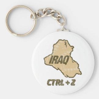 Undo Iraq Control Z Keychain