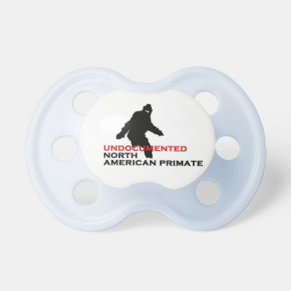 Undocumented North American Primate Baby Pacifier