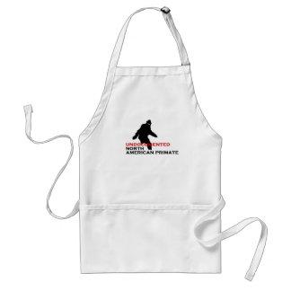 Undocumented north american primate standard apron