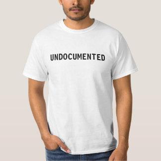 """UNDOCUMENTED"" T-shirt"