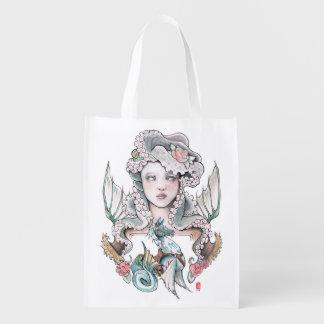 """""""Undulation"""" Design Reusable Shopping Bag"""