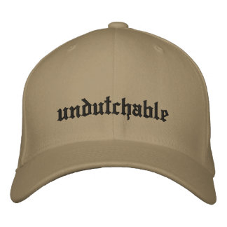 undutchable embroidered hat