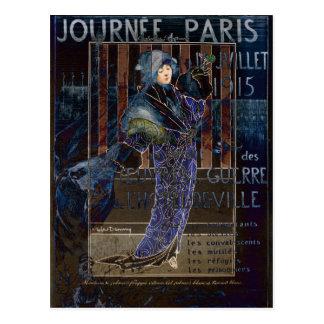 Une Valentine Parisienne Postcard