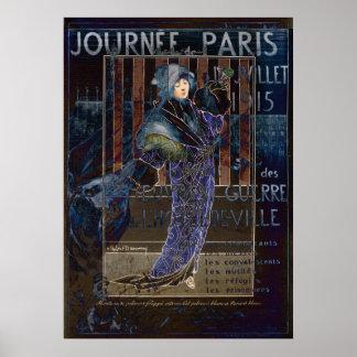 Une Valentine Parisienne Poster