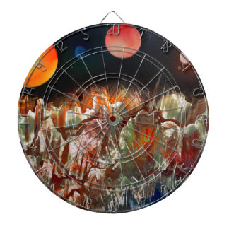 Unearthly Worlds Dartboard