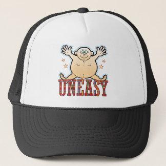 Uneasy Fat Man Trucker Hat