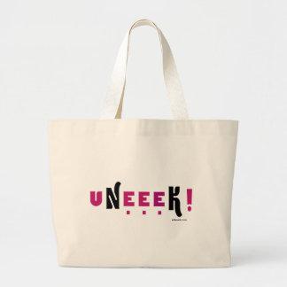 uNeeeK!  Original, Different and ExtraOrdinary! Jumbo Tote Bag