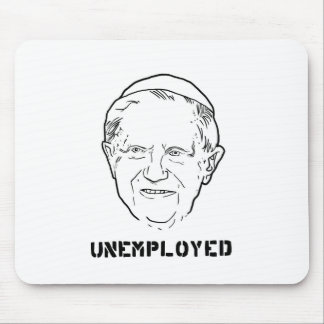 unemployed pope.jpg mouse pad