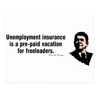 Unemployment Insurance Postcard