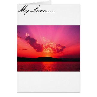 Unending love card