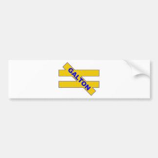 Unequality — Francis Galton Bumper Sticker