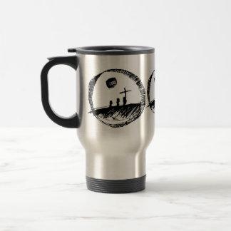 uner cross stainless steel travel mug