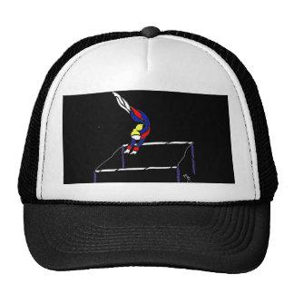 Uneven bar Transfer Trucker Hat