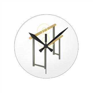 Uneven Bars Clocks