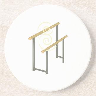 Uneven Bars Beverage Coaster