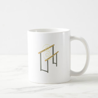 Uneven Bars Coffee Mugs