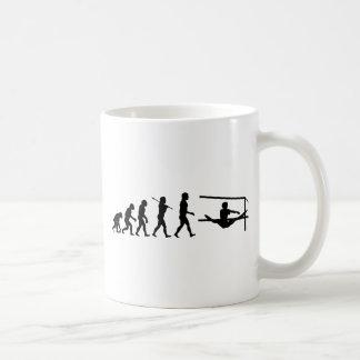 Uneven Bars Sport Evolution Coffee Mugs