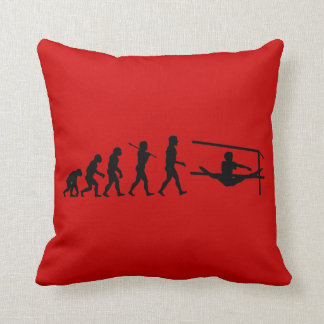 Uneven Bars Sport Evolution Throw Cushions