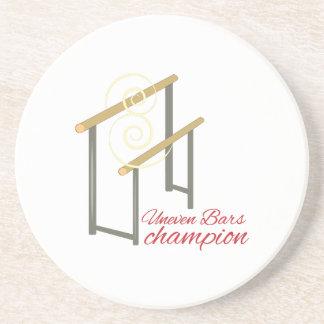 Uneven Champion Drink Coaster