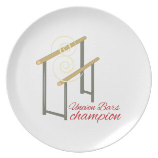 Uneven Champion Dinner Plate