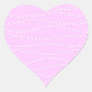 uneven stairs heart sticker